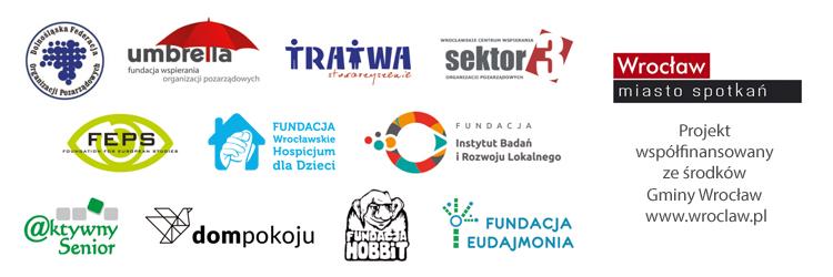 Kongres Wrocławskich Organizacji Pozarządowych - logotypy